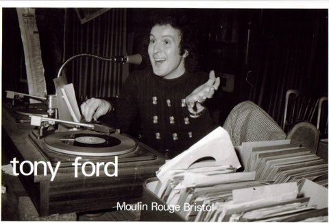 Tony Ford - DJ at the Moulin Rouge