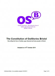 OutStories Constitution (cover)