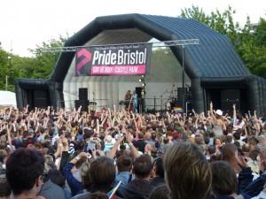 Pride Bristol 2011 - main stage