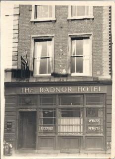 Radnor Hotel postwar