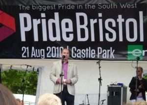 Stephen Williams MP at Pride Bristol 2010