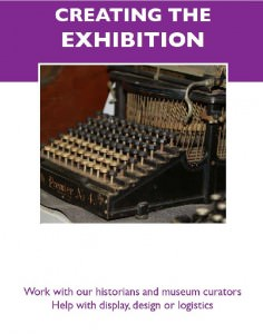Creating the exhibition