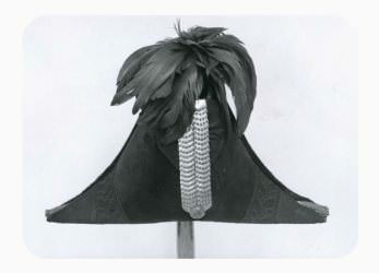 Hat worn by James Barry