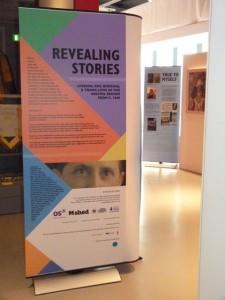 Revealing Stories display panel