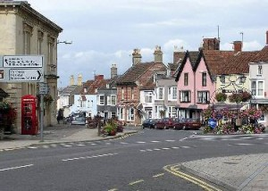 Thornbury town centre