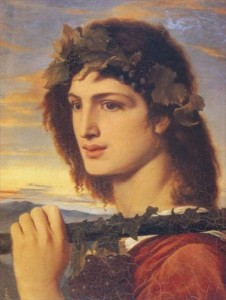 'Bacchus' by Simeon Solomon
