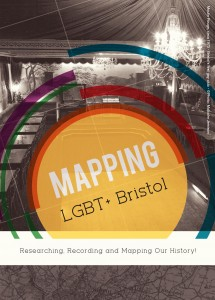 Mapping LGBT+ Bristol flyer (front)