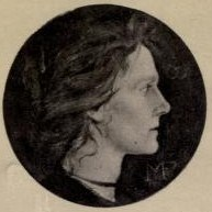 Illustration of Edith Cooper taken from the frontispiece of the published works of Michael Fields.