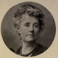 Photograph of Katherine Bradley taken from the frontispiece of the published Bibliography of the works of Michael Field