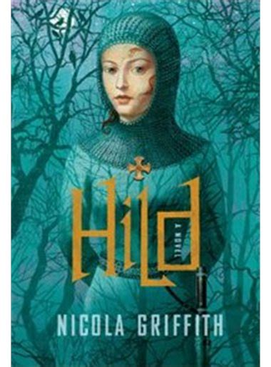 Hild' bookcover portraying ghost-like young woman in a forest